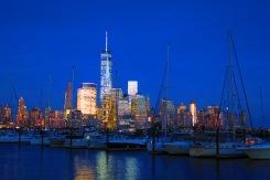 Manhattan Skyline (à partir de Jersey City)