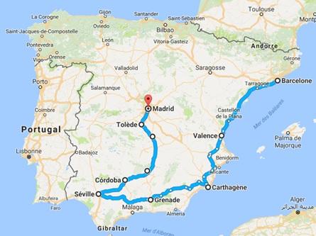 Road-Trip Espagne