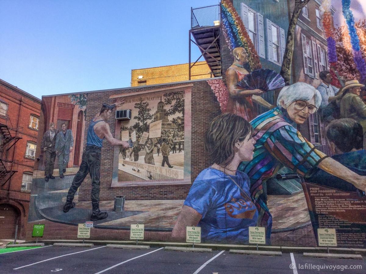 L'art urbain à Philadelphie / Street Art in Philadelphia