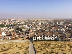 Vue sur la ville de Consuegra. / View on Consuegra town.