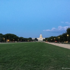 Washington Mall et le Capitole