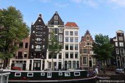 Amsterdam - Maisons à pignons