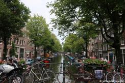 Amsterdam - ses canaux, vélos et bateaux
