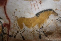 Lascaux IV - L'une des nombreuses peintures rupestres de la grotte de Lascaux.