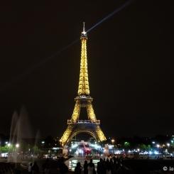 Tour Eiffel de nuit