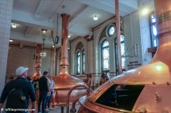 Heineken Experience - Musée où l'ont apperçoit les grands cuves de brassage de la bière.