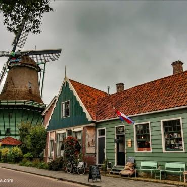 Zaanse Schans - À l'entrée du village