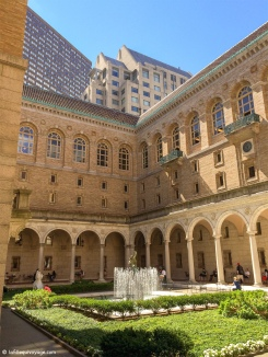 Cour intérieure de la Public Library