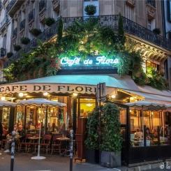 Café de Flore (quartier Saint-Germain-des-Prés)